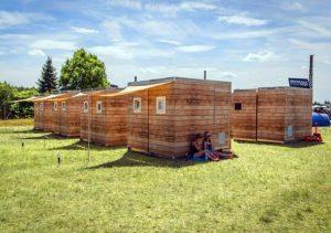 Die mobilen Lodges aus Holz von MY MOLO