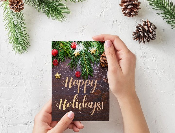 Tipps für Weihnachtskarten an Kunden und Geschäftspartner