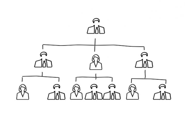 Hierarchiestruktur im Unternehmen – Unterschiede