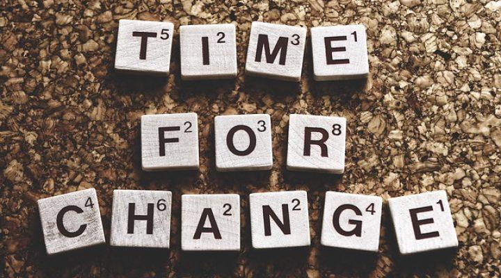 Sei offen für Veränderungen!